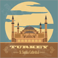 Wall sticker  Turkey - Hagia Sophia