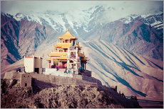 Gallery print  Monastery in the Himalayas