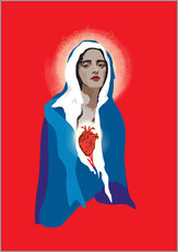 Wall Sticker  Virgin Of Guadalupe - Anna McKay