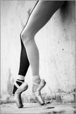 Gallery print  Ballet in black and white