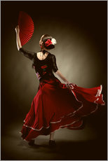 Gallery print  Flamenco dancer