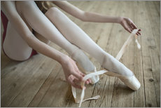 Wall Stickers  Ballet shoes