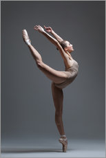 Gallery print  Young and beautiful dancer