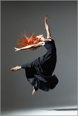 Gallery print  Dancer with red hair