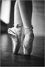 Gallery print  Feet of a dancer