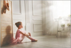 Wall sticker  Little ballerina - big dreams