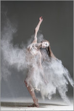 Gallery print  Flour dancer in pose