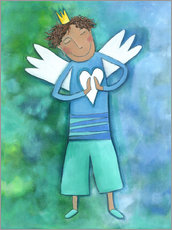 Wall Stickers  Guardian Angels for boys - Atelier BuntePunkt