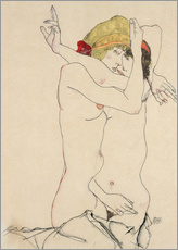 Gallery print  Two friends - Egon Schiele