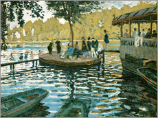 Gallery Print  The frog pond - Claude Monet