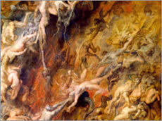 Gallery print  Hell of the Damned (Detail) - Peter Paul Rubens