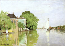 Wall sticker  Landscape near Zaandam - Claude Monet