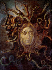 Wall sticker  Head of Medusa - Peter Paul Rubens