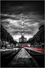 Wall Stickers  Victory Column Berlin in the evening - Sören Bartosch
