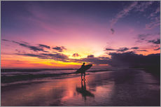 Wall Stickers  Bali Sunset Surfing - Christian Seidenberg