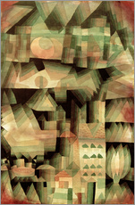 Wall Stickers  Dream City - Paul Klee