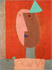 Wall sticker  Clown - Paul Klee