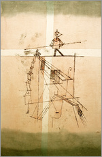Wall sticker  Tightrope walker - Paul Klee