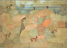 Wall sticker  Landscape with Donkeys - Paul Klee