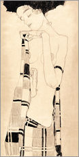 Wall Stickers  Standing Girl - Egon Schiele