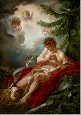 Gallery print  Saint John the Baptist - François Boucher