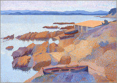 Wall sticker  Coast near Antibes - Henri Edmond Cross