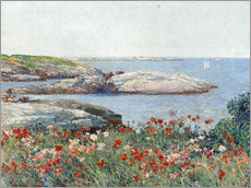 Gallery print  Poppies, Isles of Shoals - Frederick Childe Hassam