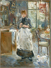 Gallery print  In the Dining Room - Berthe Morisot