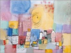 Wall sticker  German city - Paul Klee