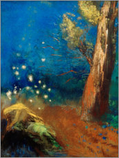 Gallery Print  The death of the Buddha - Odilon Redon