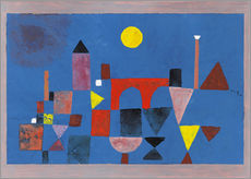 Wall Stickers  Red Bridge - Paul Klee