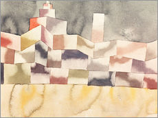 Gallery print  Architecture in the Orient - Paul Klee
