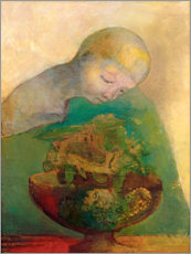 Wall Stickers  Shell of becoming - Odilon Redon