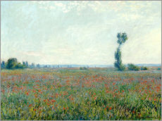 Gallery print  Field with poppies - Claude Monet