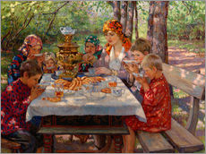 Wall sticker  The Teacher's Guests - Nikolay Bogdanov-Belsky
