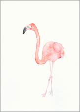 Gallery Print  Flamingo - Dearpumpernickel