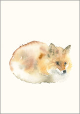 Gallery print  Fox - Dearpumpernickel