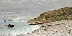 Gallery print  the point of heve honfleur - Claude Monet
