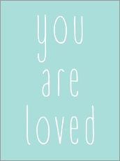 Gallery print  You Are Loved - Finlay and Noa