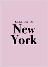 Wall sticker  Take Me To New York - Take me to New York - Finlay and Noa