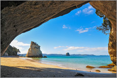 Wall Stickers  Cathedral Cove - Denis Feiner