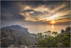 Gallery print  Table Mountain - Salvadori Chiara