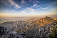 Gallery print  Table Mountain View - Salvadori Chiara