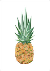 Wall sticker  Polygon pineapple - Finlay and Noa
