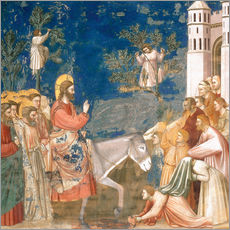 Wall sticker  The Entry into Jerusalem - Giotto di Bondone