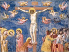 Canvas print  The Crucifixion - Giotto di Bondone