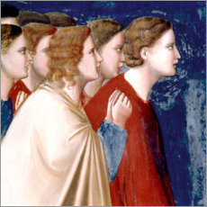 Foam board print  The suitors' prayer - Giotto di Bondone