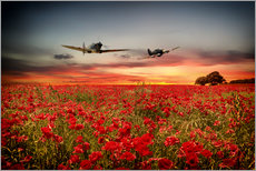 Gallery print  Battle of Britain warriors - airpowerart