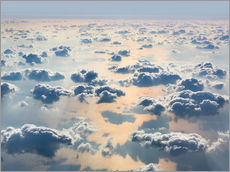Gallery print  Above the clouds