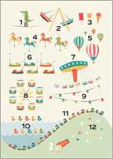 Wall Stickers  learn to count - Sandy Lohß